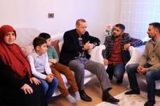 Erdoğan'ın gazi ziyaretinde nişan sürprizi