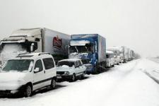Kar yağışı yol durum son dakika haberleri (08 Ocak 2017)