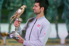 Novak Djokovic sezona kupayla başladı!
