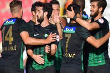 Akhisar Belediyespor Göztepe'yi yendi