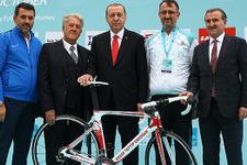 Cumhurbaşkanı Recep Tayyip Erdoğan'dan spora destek