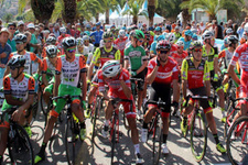 Cumhurbaşkanlığı Bisiklet Turu Alanya'da start aldı