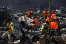 Yangınların vurduğu Kaliforniya'da 'Hepatit A' alarmı