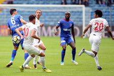 Karabükspor Kayserispor maçı golleri ve özeti