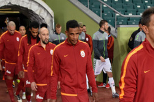 Galatasaray maçında ilginç anlar