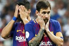 Barcelona Atletico Madrid'e takıldı