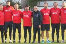 Trabzonspor Rıza Çalımbay yönetiminde çalıştı