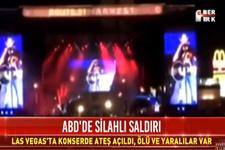 Las Vegas'ta konsere saldırı : Ölü ve yaralılar var