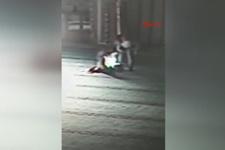 Kartal'daki camiyi yakan kişi kamerada