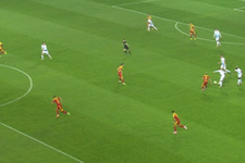 Trabzonspor maçında skandal ofsayt kararı