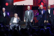 5 eski ABD Başkanı konserde buluştu! Trump gelmedi!