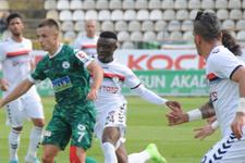 Giresunspor ilk mağlubiyetini aldı