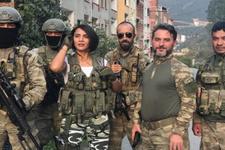Survivor Sabriye'den JÖAK Timleri'ne moral ziyareti