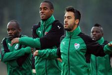 Bursaspor'da Badu takımla çalışmalara başladı