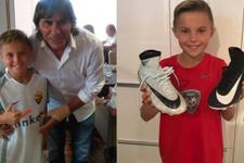 Roma 10 yaşındaki genç yeteneği kaptı