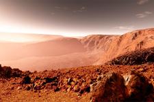 Mars'tan gelen görüntü dünyayı salladı UFO enkazı bulundu