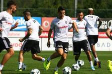 Beşiktaş Alanyaspor maçı öncesi taktik çalıştı
