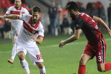 Samsunspor Gaziantepspor'a gol yağdırdı