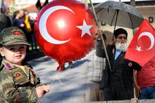 Ülkenin dört bir yanında 29 Ekim coşku ve gururla kutlanıyor