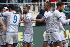 Erzurumspor güle oynaya kazandı