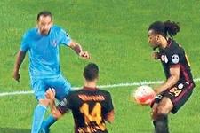 Trabzonspor-Galatasaray maçında yine penaltı tartışması