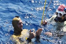 Serbest dalışta yeni dünya rekoru kırıldı