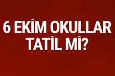 6 Ekim okullar tatil mi İstanbul'un kurtuluşu MEB'den açıklama