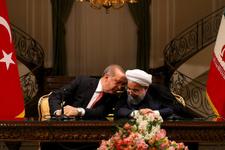 Erdoğan'ın esprisi Ruhani'ye kahkaha attırdı!
