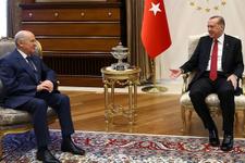 Ankara'da neler oluyor? Erdoğan ve Bahçeli görüştü