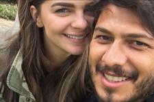 Pelin Karahan'a eşi Bedri Güntay'dan romantik kutlama