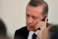 Cumhurbaşkanı Erdoğan makam aracından milli maçı takip etti