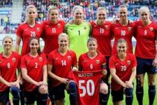 Norveç'te kadın ve erkek futbolcuların eşitlik kararı