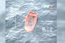 Şile açıklarında gemi battı! Arama-kurtarma çalışmaları sürüyor