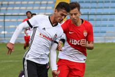 Beşiktaş Monaco'yu yenerek ilk galibiyetini aldı