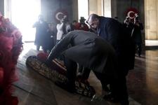 Devlet erkanı Anıtkabir'e çıktı! Büyük önder Atatürk anıldı