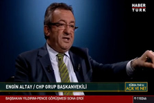 CHP'li Altay: Çok net söylüyorum Erdoğan oradan inecek