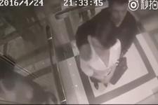 Kadını asansörde taciz etti! Hayatı boyunca unutamayacağı bir ders aldı