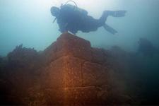 Van Gölü'nde 3 bin yıllık kale bulundu!