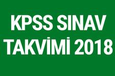 2018 KPSS sınav tarihleri belli oldu - KPSS ne zaman?