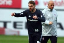 Beşiktaş'ta Caner Erkin idmana çıktı