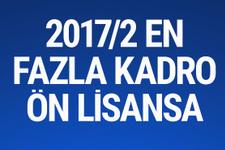 KPSS 2017/2 tercih başvuru ÖSYM ön lisans en fazla boş kadro