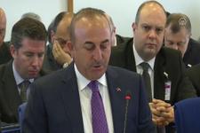 Dışişleri Bakanı Çavuşoğlu: ABD hatasını sürdürüyor