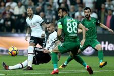 Beşiktaş-Akhisar maçı golleri ve geniş özeti