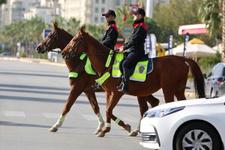 Yer Hollanda ya da Avusturya değil Türkiye! İşte atlı polisler