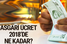 Asgari ücret 2018 ne kadar olacak hesaplama nasıl yapılıyor?