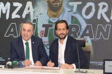 Ali Turan 2020'ye kadar Atiker Konyaspor'da
