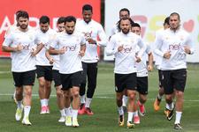 Galatasaray Alanyaspor'a hazırlanıyor