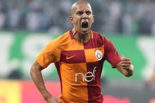 Galatasaray'da Feghouli yolcu