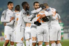 Ludogorets Başakşehir maçı fotoğraları