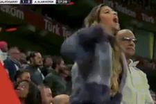 Galatasaray maçında Maicon'a yapılan faul eşini çıldırttı